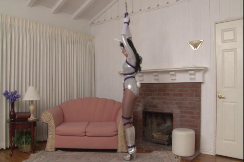 bdsm Bound and Gagged - Bound Superheroine Bunny Justice - Mary Jane Green