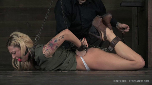 bdsm Sealed Shut Slut - Dahlia Sky Cyd Black
