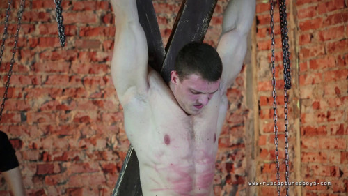 Gay BDSM Slave Factory - Bodybuilder Ilya - Part I