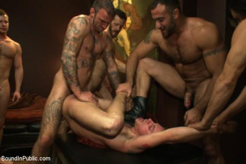 Gay BDSM Annihilation of Sebastian Keys