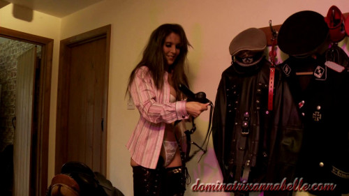 Femdom and Strapon valet scene 8 part 2