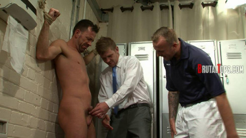 Gay BDSM BrutalTops Session 332 - Master Derek and Master Edward