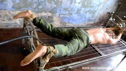 Gay BDSM The Captured Commando. Part II