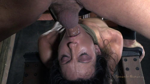 bdsm SB - Mar 25, 2013 - Wenona get roughly deep throated, her Huge nipples bound - HD