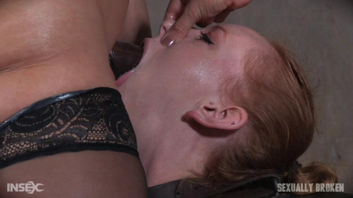 bdsm Katy Kiss - Katy Kiss Shows Off Her Deep Throat Skills on Lesbians Strap On (2016)