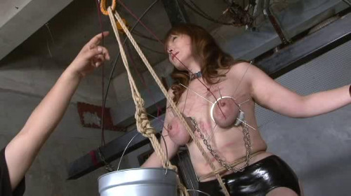 bdsm skewered stretching torture