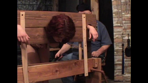 bdsm Ransom In The Stocks
