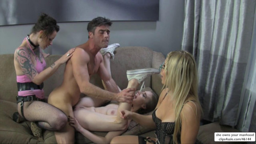 Femdom and Strapon Anya Olsen, Ashley Fires, Lux Orchid - Best Break Up Therapy
