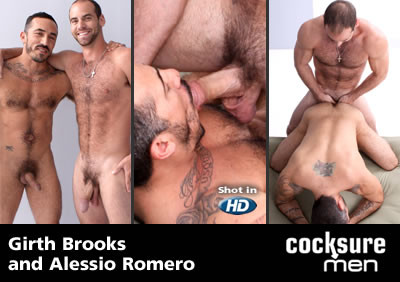 Girth Brooks and Alessio Romero