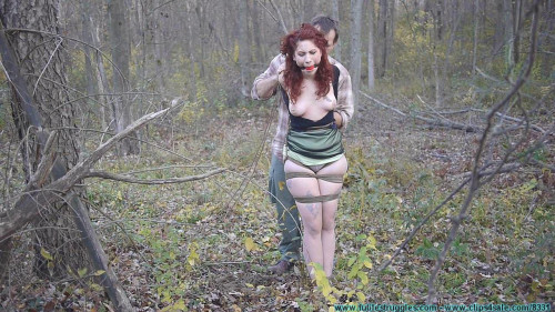 bdsm Rin Transported To The Woods And Tree Tied 1