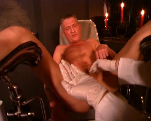 Femdom and Strapon Anal femdom therapy