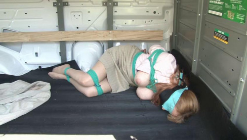 bdsm Bound and Gagged - LadyBoss Van Bondage - Lorelei