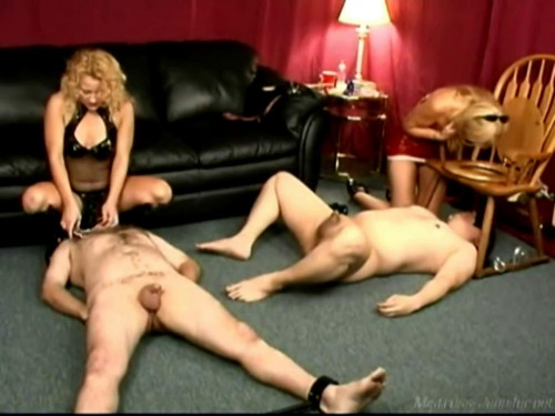 Femdom and Strapon Stretch His Hole - LE