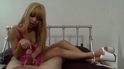 Femdom and Strapon sounding blonde
