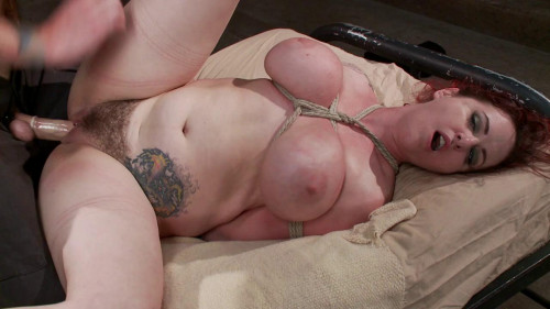 bdsm Mz. Berlin Brutally Fucked by a Young Stud