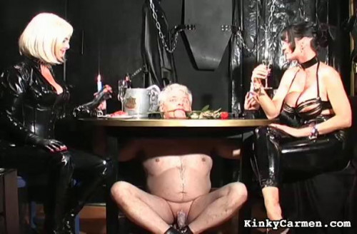 Femdom and Strapon Magic Very Good Collection Of KinkyCarmen. Part 1.