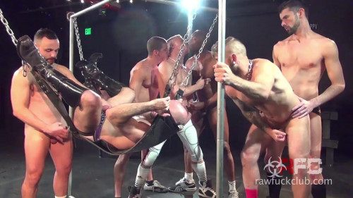 Gay BDSM Adam Russos Gang Bang