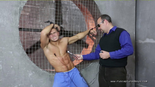 Gay BDSM RusCapturedBoys - Three Lessons for Judoist Vitaly Part III