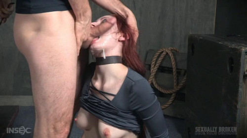 bdsm Violet Monroe BaRS Part 3 Double stuffed, bound and roughly fucked. Deep throated made to cum
