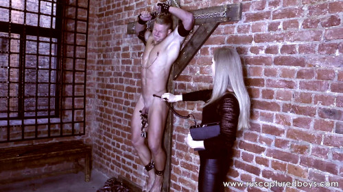 Gay BDSM A New Mistress of Slave Vasiliy - Final
