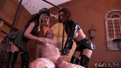 Femdom and Strapon Starring Mistress Isobel and Mistress Raven