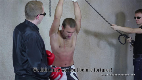 Gay BDSM RusCapturedBoys – Mixfighter Anatoliy - Part I