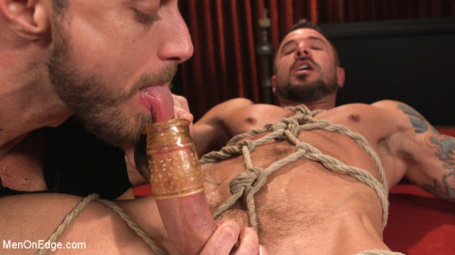 Gay BDSM Dolf Dietrich Surrenders His 8 Inch Cock for Edging