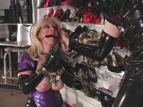 bdsm Rubber Boot Slut