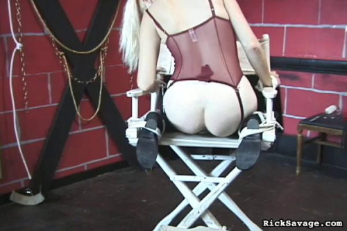 bdsm Bound innocent virgin