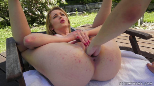 Fisting and Dildo Fisting Outdoor Fisting Ashley Woods , Cristal Rose