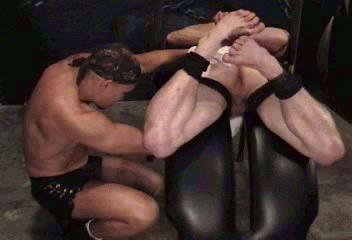 Gay BDSM Tough-Man Bondage