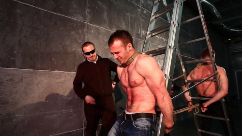 Gay BDSM RusCapturedBoys - The caught saboteurs 3
