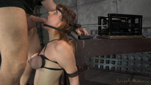 bdsm Jessica Ryan in Strict Bondage on Sybian
