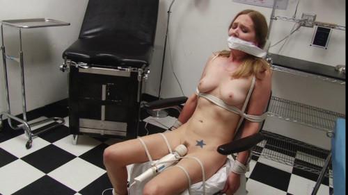 bdsm Bound and Gagged - Medical Clinic Vibrator Bondage for Miss Star Nine