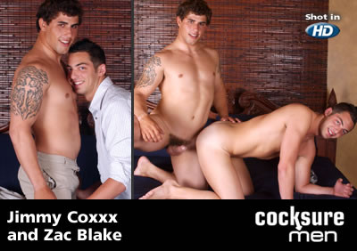 Jimmy Coxxx and Zac Blake