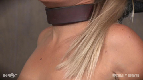 bdsm Angel and Dee Tied Back to Back And For Mouth and Anal Use
