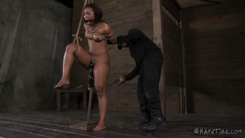 bdsm Chanell Heart Gets Dragged In, Tied Up, and Has Her Body Worked