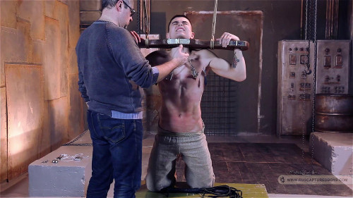 Gay BDSM Slaves Auction - Artem - Part II