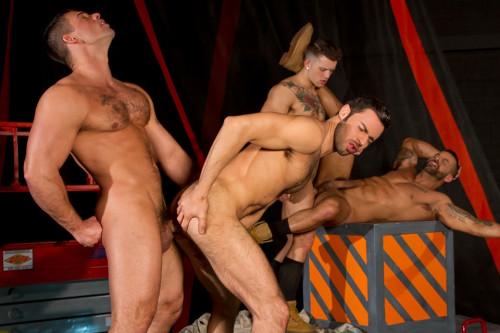 Dario Beck, David Benjamin, Derek Atlas and  Sebastian Kross