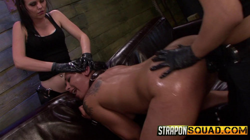 bdsm Straponsquad - Mar 18, 2016 - Isa Mendez Takes More Double Penetration Fun from Brooklyn Daniels