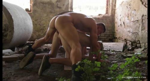 Gay BDSM GayWarGames - Jakub and Tomas