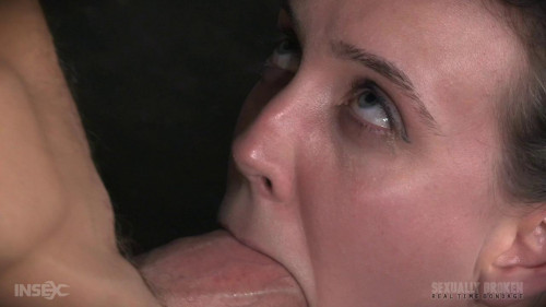 bdsm Cute girl next door, suffers brutal deepthroating and rough fucking, extreme bondage and sex