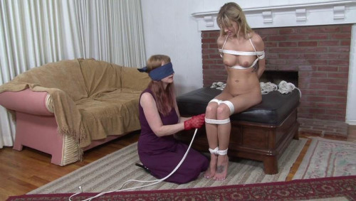 bdsm Bound and Gagged - The Blindfolded Rigger - Lorelei Ties Jana Jordan