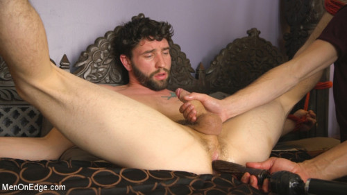 Gay BDSM Men-on-Edgers Sebastian and Jackson Get Edged