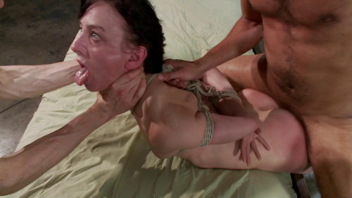 bdsm FB - 01-03-2014 - Masochistic Slut Gets Double Penetrated with Huge Cocks