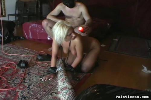 bdsm Strapped Fetish Blonde