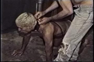 Gay BDSM Bound Body Worship