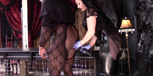 Femdom and Strapon Ruined Taken Orgasm