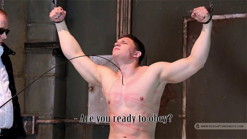 Gay BDSM RusCapturedBoys - From the Robber to Slavery - Part I