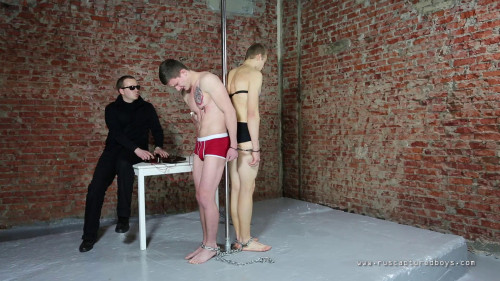 Gay BDSM Two robbers - Part II